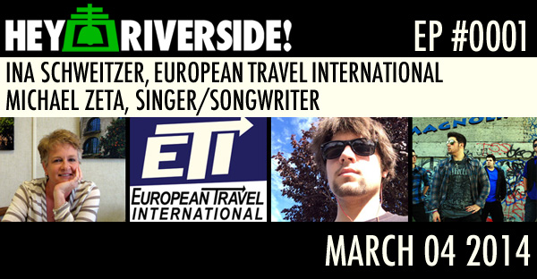 INA SCHWEITZER, EUROPEAN TRAVEL INTERNATIONAL; MICHAEL ZETA, SINGER/SONGWRITER