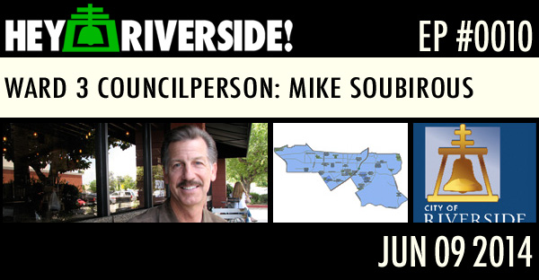 WARD 3 COUNCILPERSON MIKE SOUBIROUS