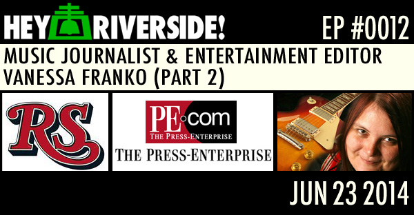 MUSIC JOURNALIST AND ENTERTAINMENT EDITOR VANESSA FRANKO (PART 2)