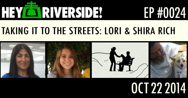 TAKING IT TO THE STREETS: LORI AND SHIRA RICH