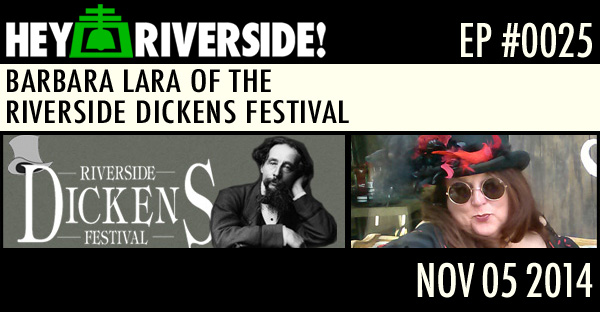 BARBARA LARA OF THE RIVERSIDE DICKENS FESTIVAL