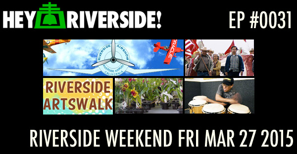 RIVERSIDE WEEKEND: Friday March 27 2015