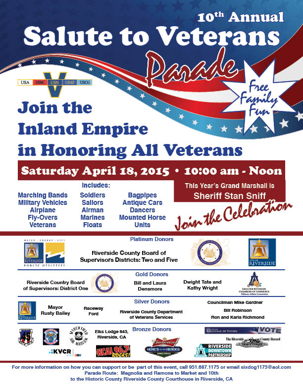 SALUTE TO VETERANS PARADE
