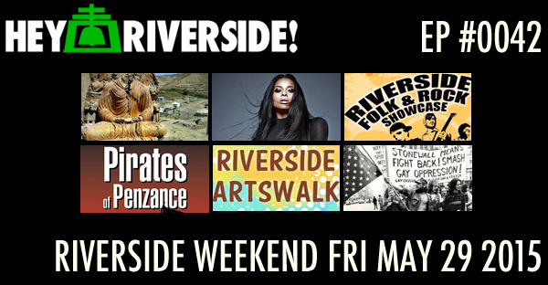RIVERSIDE WEEKEND: Friday May 29 2015 WITH KEVIN DARISH