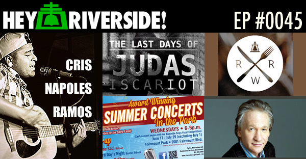 RIVERSIDE WEEKEND: Friday June 19 2015 WITH CRIS NAPOLES RAMOS