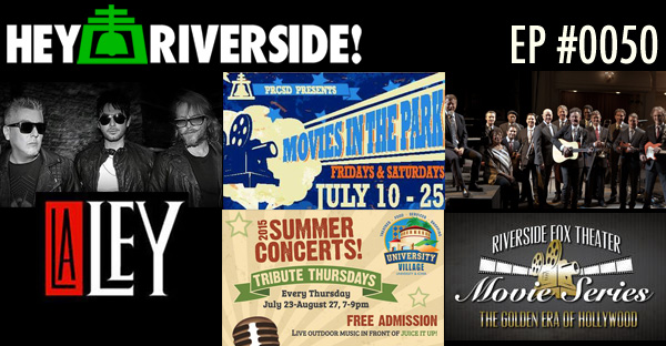 RIVERSIDE WEEKEND: Friday July 17 2015