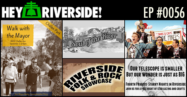 RIVERSIDE WEEKEND: FRIDAY AUGUST 28 2015