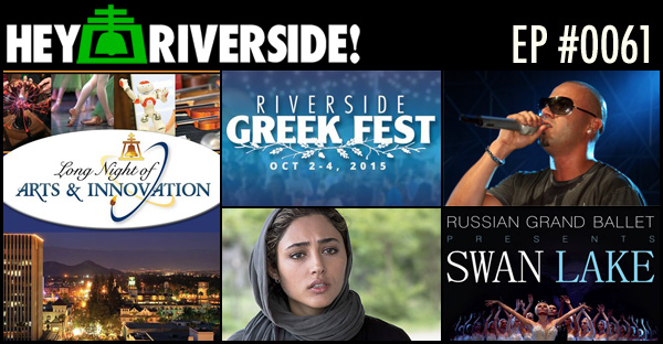 RIVERSIDE WEEKEND: FRIDAY OCTOBER 02 2015 WITH CRIS RAMOS