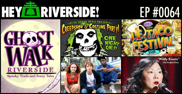 RIVERSIDE WEEKEND: FRIDAY OCTOBER 23 2015