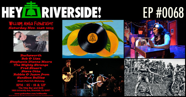 RIVERSIDE WEEKEND: FRIDAY NOVEMBER 20 2015