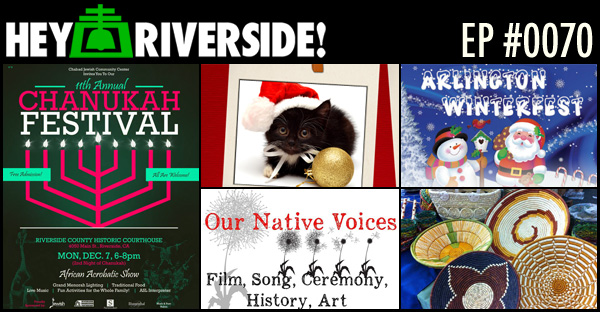 RIVERSIDE WEEKEND: FRIDAY DECEMBER 04 2015