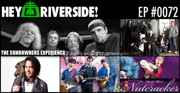RIVERSIDE WEEKEND: FRIDAY DECEMBER 18 2015 WITH THE SUNDOWNERS EXPERIENCE