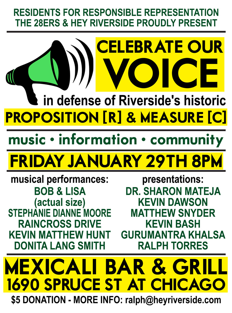 Celebrate Our Voice Event Flyer