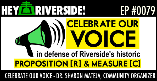 EP0079 - CELEBRATE OUR VOICE - DR SHARON MATEJA, COMMUNITY ORGANIZER