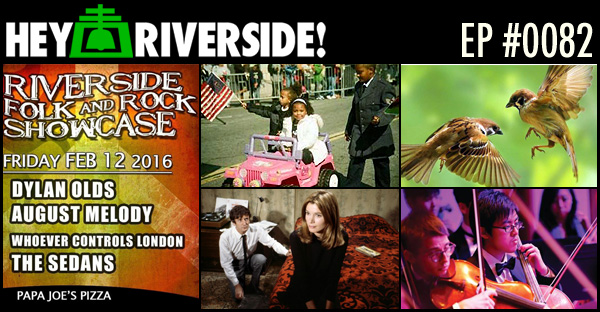 RIVERSIDE WEEKEND: FRIDAY FEBRUARY 12 2016