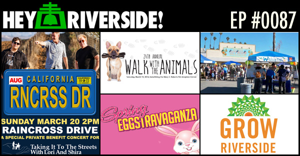 EP0087 - RIVERSIDE WEEKEND FRIDAY MARCH 18 2016
