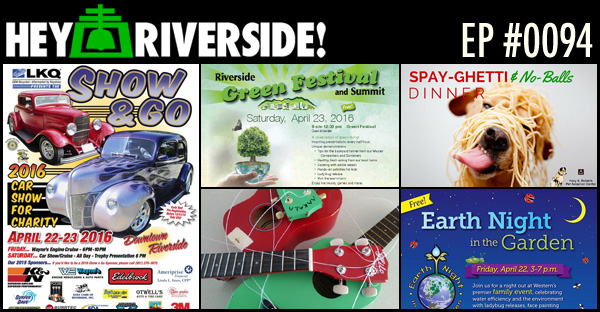RIVERSIDE WEEKEND: FRIDAY APRIL 22 2016