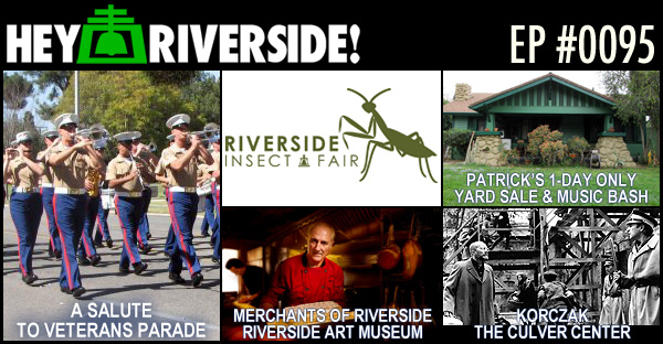 RIVERSIDE WEEKEND: FRIDAY APRIL 29 2016
