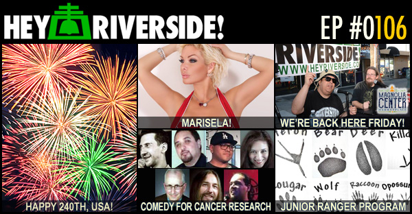 RIVERSIDE WEEKEND: FRIDAY JULY 01 2016