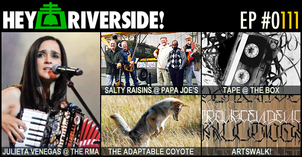 RIVERSIDE WEEKEND: FRIDAY JULY 29 2016