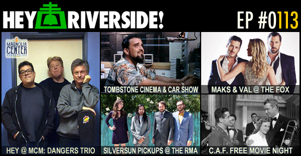RIVERSIDE WEEKEND: FRIDAY AUGUST 12 2016