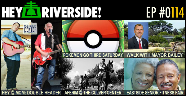 RIVERSIDE WEEKEND: FRIDAY AUGUST 19 2016