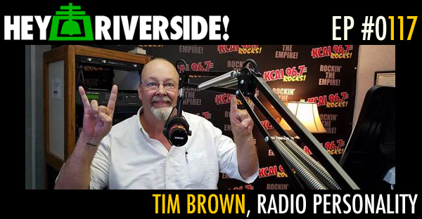 RIVERSIDE PROFILE: TIM BROWN, RADIO PERSONALITY