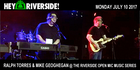 Mike Geoghegan and Ralph Torres - Monday July 10th 2017