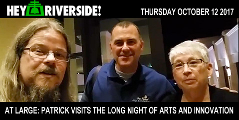 Patrick visits the Long Night of Arts and Innovation - Thursday October 12th 2017