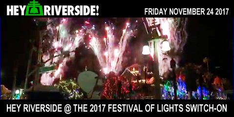 At Large: 2017 Riverside Festival of Lights Switch On - Friday November 24th 2017