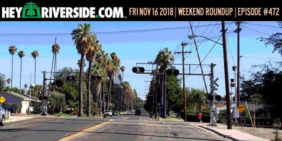 #0472 Weekend Roundup - Friday November 16th 2018