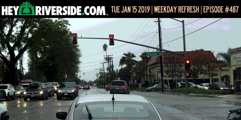 #0487 Weekday Refresh - Tuesday January 15th 2019