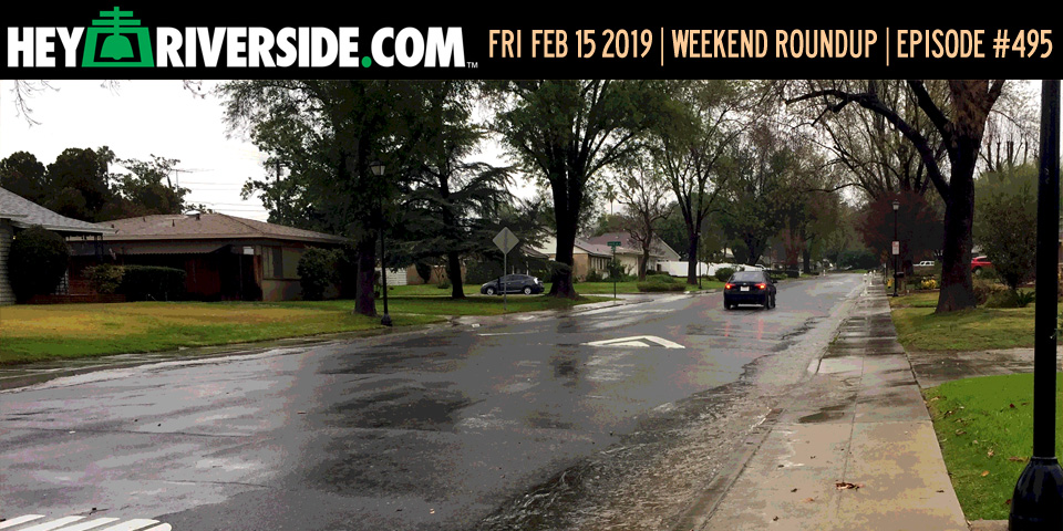 #0495 Weekend Roundup - Friday February 15th 2019