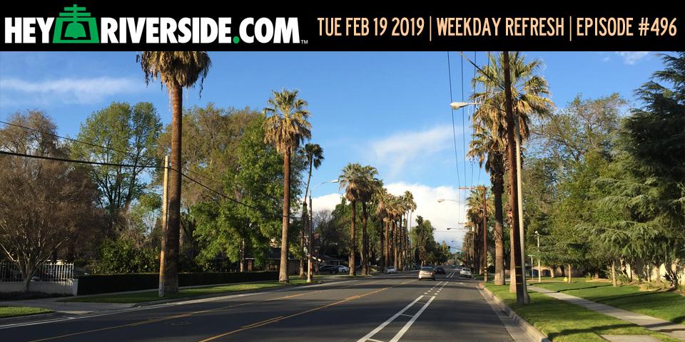 #0496 Weekday Refresh - Tuesday February 19th 2019