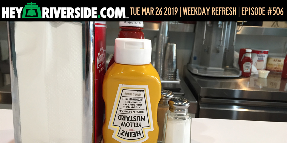 #0506 Weekday Refresh - Tuesday March 26th 2019