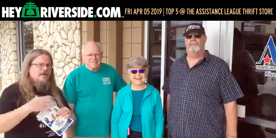 At Large: Top 5 at the Assistance League Thrift Store - Friday April 5th 2019