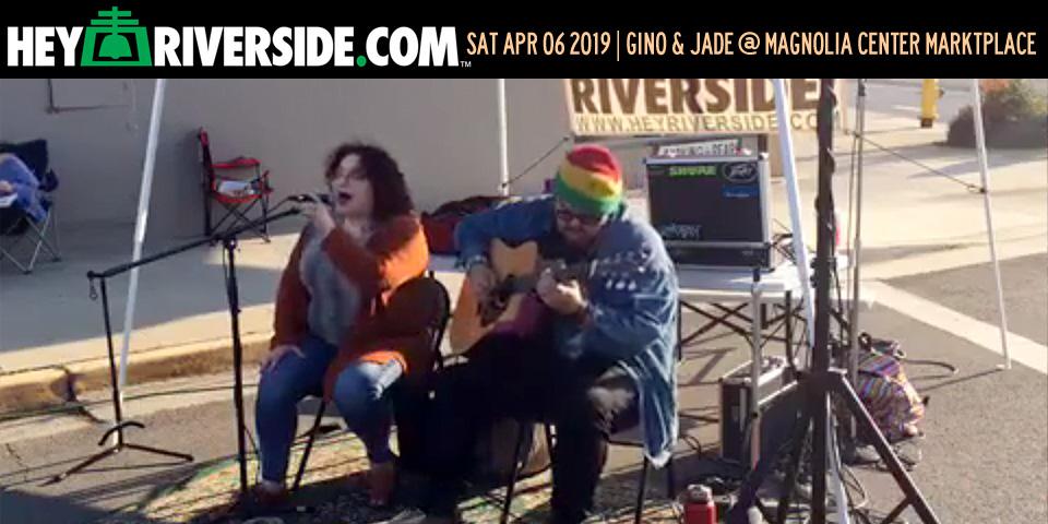 At Large: Gino and Jade at the Magnolia Center Marketplace - Saturday April 6th 2019