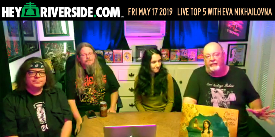 At Large: Live Top Five with Eva Mikhailovna of Eva and the Vagabond Tales - Friday May 17th 2019