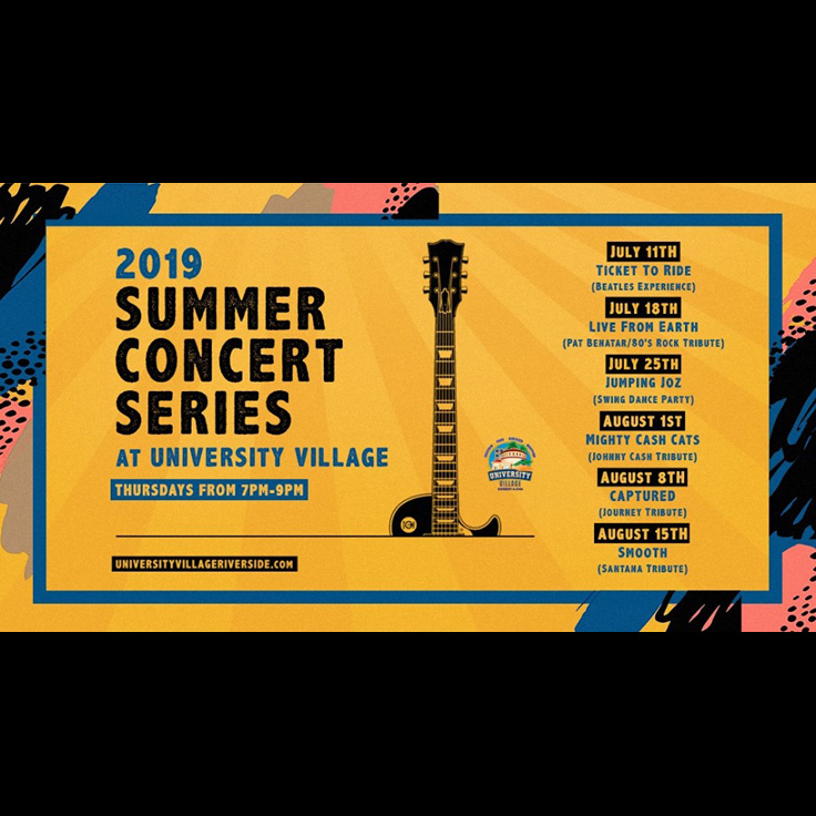 2019 Summer Concert Series with Live From Earth (Los Angeles, pat benatar)