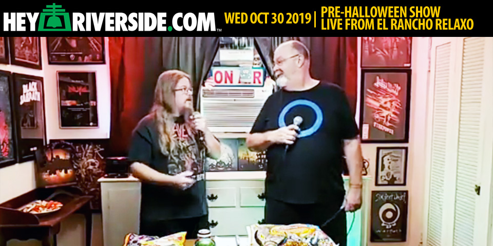 ATLG105 Pre-Halloween Show Live from El Rancho Relaxo - Wednesday October 30th 2019