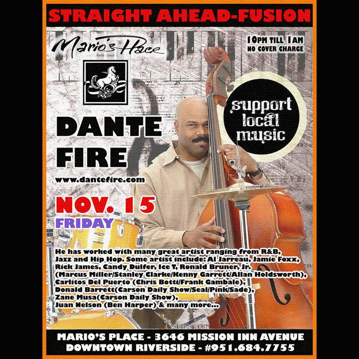 Dante Fire (jazz fusion)