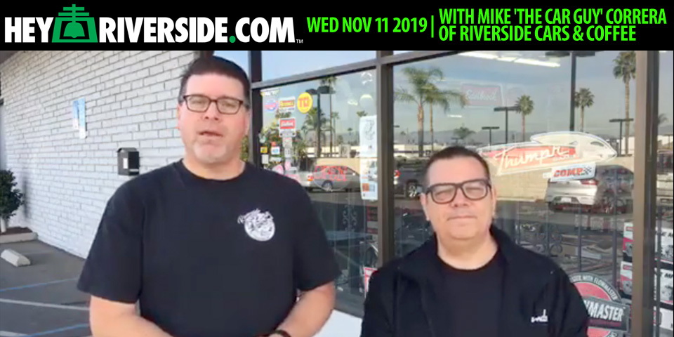ATLG106 With Mike 'The Car Guy' Correra at J & M Speed Center talking Riverside Cars & Coffee - Wednesday December 11th 2019
