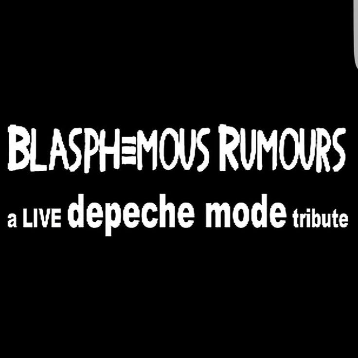 Blasphemous Rumours (Los Angeles, depeche mode)