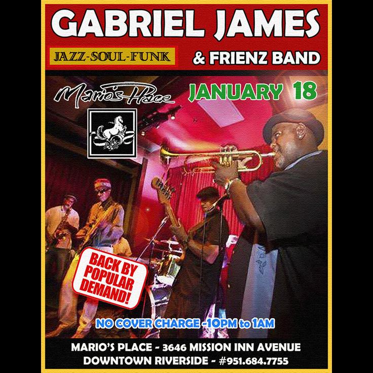 Gabriel James & Frienz (Highland, smooth jazz)
