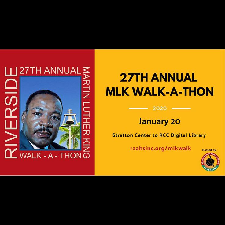 27th Annual Dr. Martin Luther King Jr. Walk-A-Thon