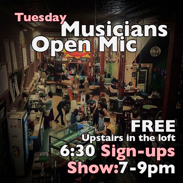Musician's Open Mic