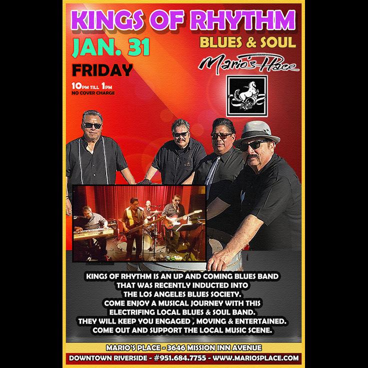 Kings of Rhythm (Inland Empire, blues)