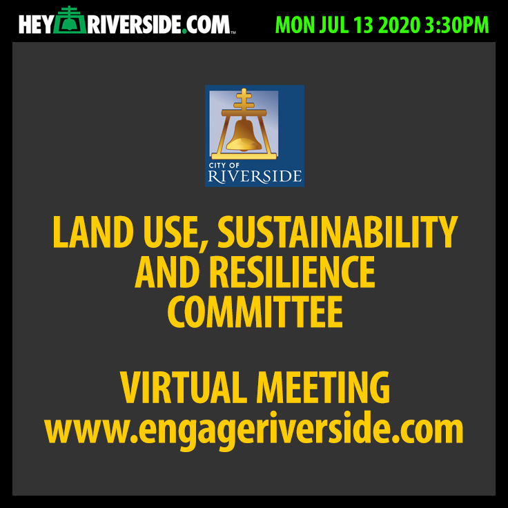 Land Use, Sustainability, and Resilience Committee