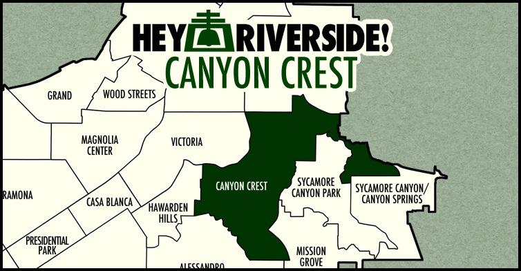 Canyon Crest neighborhood