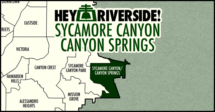 Sycamore Canyon / Canyon Springs neighborhood